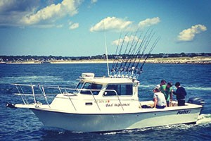 Bad Influence Sportfishing Boat