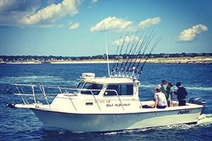 Bad Influence Sportfishing Boat