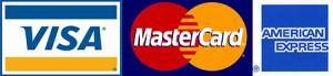 Credit Card Logos | Cape Cod Fishing Charter